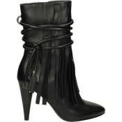 2017 Collection Chaussures ASH Bird-001 Noir Bottines Femme Soldes Avignon
