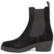 2017 Collection Chaussures ASH Bottes Shake Softy Noir Noir Bottines Femme Soldes Avignon
