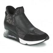 Achat / Vente Chaussures ASH Lazer Noir Basket Montante Femme Pas Cher