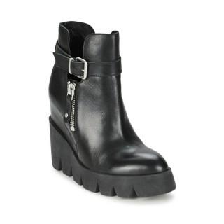 Acheter Chaussures ASH Ricky Noir Bottines Femme à Prix Réduit