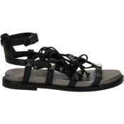Achetez le Chaussures ASH Magnun Noir Sandale Femme à Prix Bas