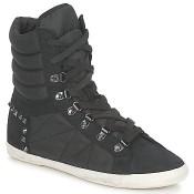 Authentique Chaussures ASH Glidelle Noir Boots Homme En Soldes