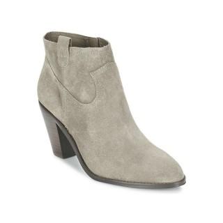 Boutique Chaussures ASH Ivana Taupe Bottines Femme Rabais Paris