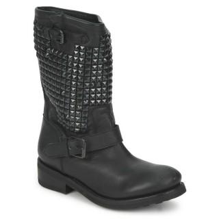 Boutique Chaussures ASH TrASH Noir Boots Femme Réduction En Ligne