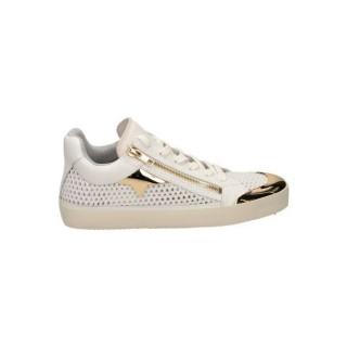 Boutique Officielle Chaussures ASH Jump Nappa Blanc Richelieu Femme Réduction En Ligne