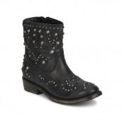 Boutique Officielle Chaussures ASH Volcano Noir Boots Femme Pas Cher France