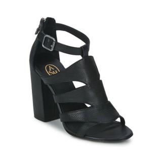 Boutique de Chaussures ASH Emotion Noir Sandale Femme Pas Cher Prix