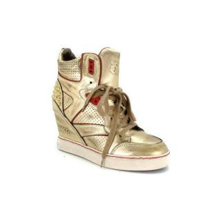 Chaussures ASH Billie - Urbain Sportif Billie D''Or Basket Montante Femme Collection Pas Cher