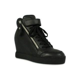Chaussures ASH Body - Sportif Coin Fermeture Éclair Noir Basket Montante Femme Collection Rabais En Ligne