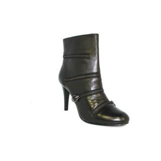 Chaussures ASH Botine Boucle Noir Bottines Femme des Offres à Bas Prix
