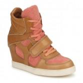 Chaussures ASH Coca Marron / Corail Basket Montante Femme à des Prix Raisonnables