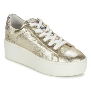 Chaussures ASH Cult Doré Basket Basses Femme Faire Une Remise