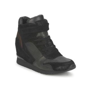 Chaussures ASH Drum Noir Basket Montante Femme Magasin Paris