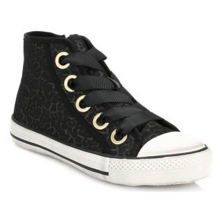 Chaussures ASH Femme Lepord Print Venus Mesh Lace Up Trainers ASH_30 Basket Montante Jusqu''à 70% de réduction