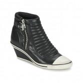Chaussures ASH Genius Noir Basket Montante Femme La Boutique en Ligne