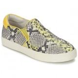 Chaussures ASH Impuls Python / Jaune Slips On Femme Pas Cher Nice
