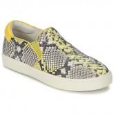 Chaussures ASH Impuls Python / Jaune Slips On Femme Personnalisé en Ligne