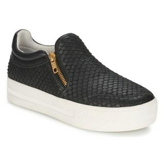Chaussures ASH Jordy Noir Slips On Femme Rabais Boutique Paris