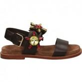 Chaussures ASH Kidsuede Marron Sandale Femme Vente En Ligne