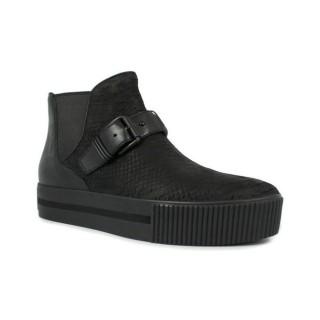 Chaussures ASH Killer - Tobillero Doble Semelle Noir Boots Femme Pas Chère