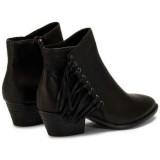 Chaussures ASH Lenny Tody - Bottines Femme Noir Bottines Soldes Cannes