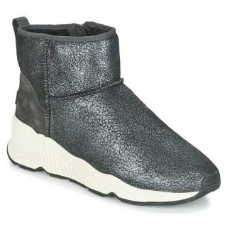 Chaussures ASH Miko Gris Métallisé Boots Femme Magasin France