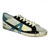 Chaussures ASH Soda - Sportif Corde Argent/Celeste Basket Basses Homme Collection Pas Cher