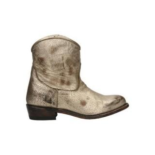 Chaussures ASH Tessico Doré Botte Femme Pas Chère