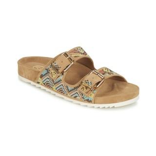 Chaussures ASH Ulla Camel Mules Femme Magasin Paris