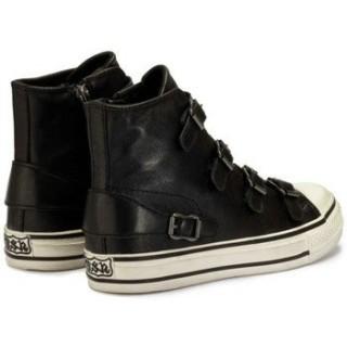 Chaussures ASH Virgin Nappa Noir - Bottines Sportives Femme Faire Une Remise