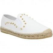 Chaussures ASH Zest Cuir Femme Blanc Blanc Espadrilles Femme Pas Cher Réduction De 55%