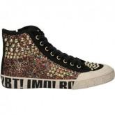 Collection Chaussures ASH Mecca Bis Noir Basket Montante Femme Rabais en ligne