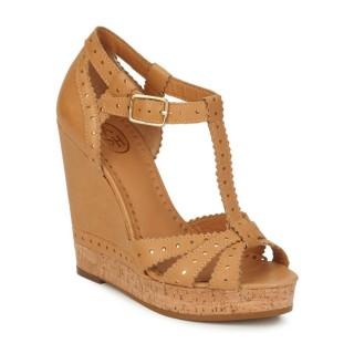 France Chaussures ASH Flavia Camel Sandale Femme Vendre En Gros