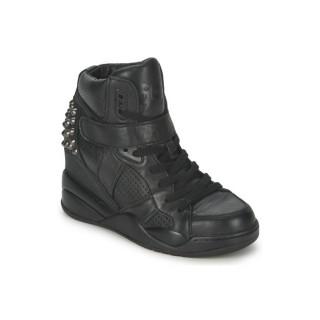 France Chaussures ASH Freak Noir Basket Montante Femme Vendre En Gros