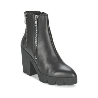 France Chaussures ASH Trouble Noir Bottines Femme Vendre En Gros