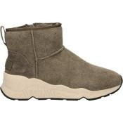 La Collection Chaussures ASH Miko-012 Gris Basket Montante Femme est Arrivée