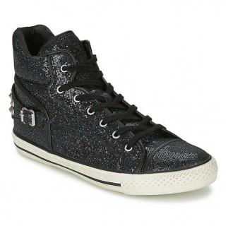 Magasin Chaussures ASH Vertigo Noir Basket Montante Femme Soldes Paris