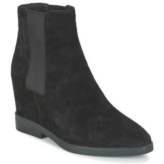 Mode Chaussures ASH Gong Noir Bottines Femme Soldes Alsace