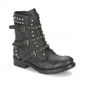 Mode Chaussures ASH Reese Noir Boots Femme Soldes Alsace