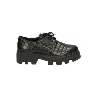 Mode Chaussures ASH Shadow Congo Nappa W Noir Derbies Femme la Vente à Bas Prix