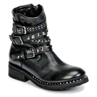 Mode Chaussures ASH Tatoo Noir Boots Femme la Vente à Bas Prix