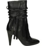 Nouvelle Chaussures ASH Bird-001 Noir Bottines Femme Paris Vente En Ligne
