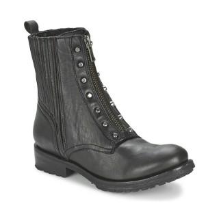 Nouvelle Chaussures ASH Rachel Noir Boots Femme Pas Cher Lyon