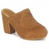 Nouvelle Chaussures ASH Uman Camel Sabots Femme Vendre à Des Prix Bas