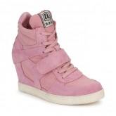 Nouvelle Collection Chaussures ASH Cool Rose Basket Montante Femme à Prix Bas