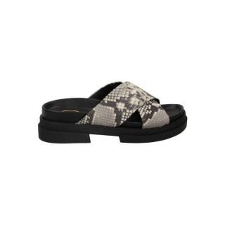 Officiel Chaussures ASH Diamante Nappa W Noir Richelieu Femme Faire un Rabais