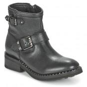 Officiel Chaussures ASH Speed Noir Boots Femme Grosses Soldes