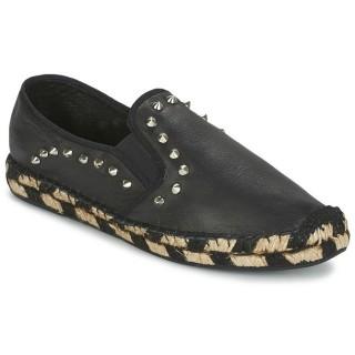Officiel Chaussures ASH Zen Noir Espadrilles Femme Faire un Rabais