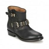 Original Chaussures ASH Vick Noir Boots Femme Pas Cher en Promo