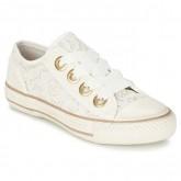 Original Chaussures ASH Vicky Blanc Basket Basses Femme Soldes France